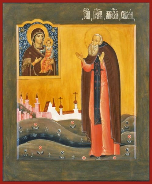 St. Alexander Of Svir - Icons