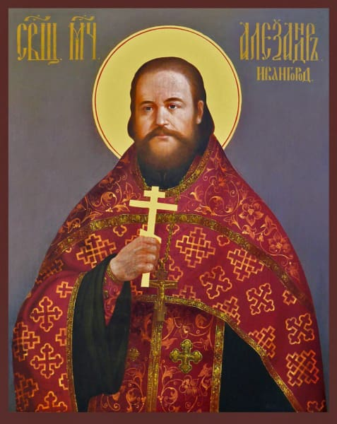 St. Alexander Volkov The New Martyr - Icons