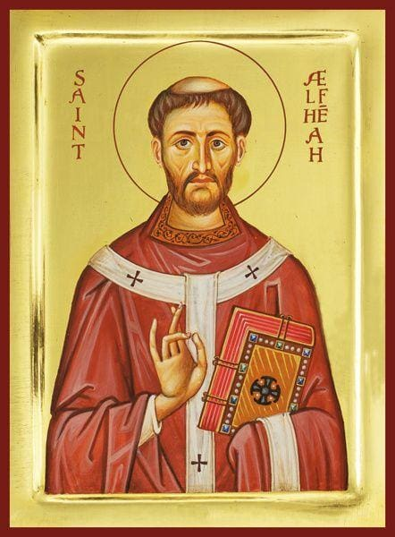 St. Alphege Of Canterbury - Icons