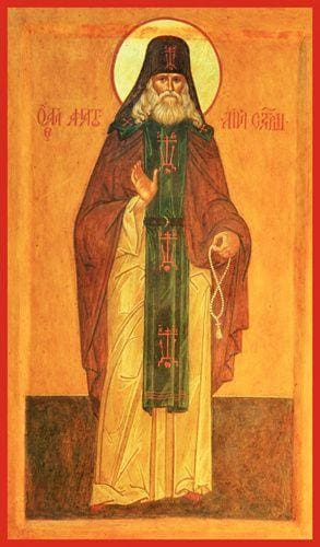 St. Anatoly Zertsalov Of Optina - Icons
