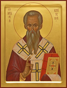 St. Andrew Of Crete - Icons