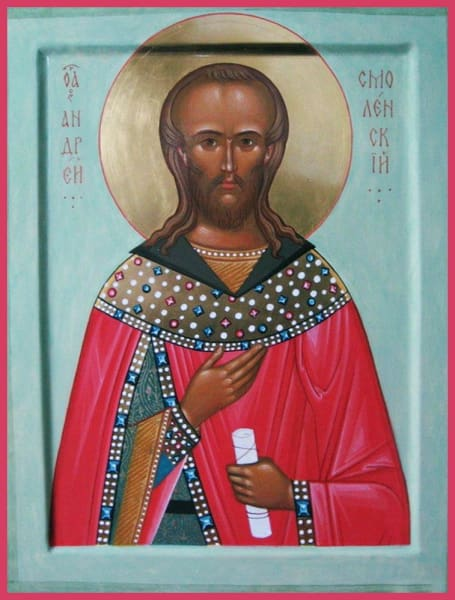 St. Andrew Of Smolensk - Icons