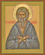 Load image into Gallery viewer, St. Andrew The Fool-For-Christ Of Costantinople - Icons