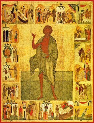 St. Andrew The Fool-For-Christ Of Costantinople - Icons