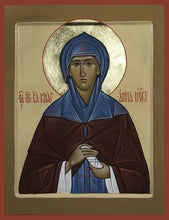 Load image into Gallery viewer, St. Anna Of Novogorod - Icons