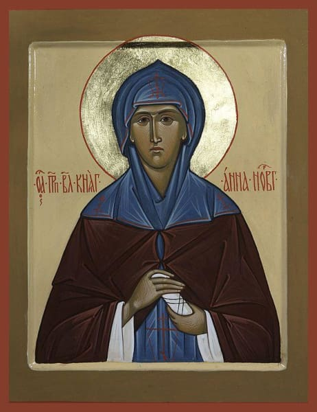 St. Anna Of Novogorod - Icons