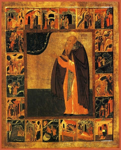 St. Anthony Of Siya - Icons