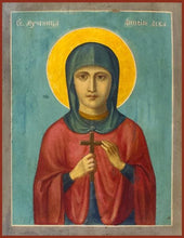 Load image into Gallery viewer, St. Anysia The Martyr - Icons