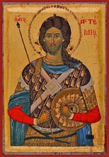 Load image into Gallery viewer, St. Artemy Of Antioch - Icons