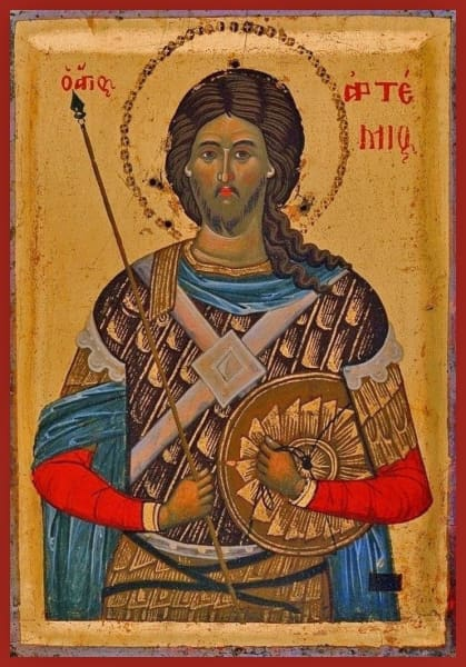 St. Artemy Of Antioch - Icons