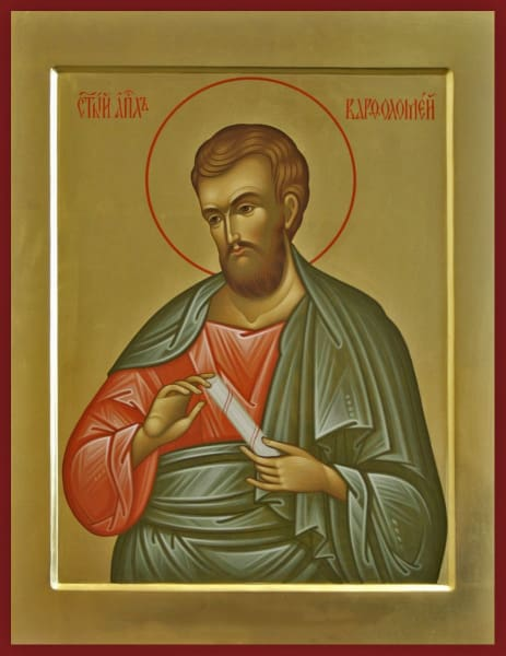 St. Bartholomew The Apostle - Icons