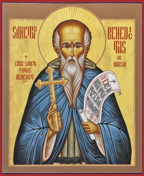 St. Benedict Of Nursia - Icons