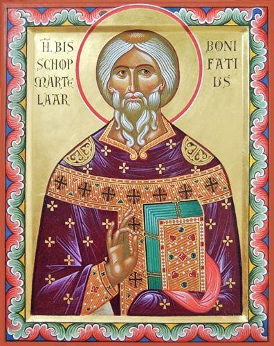 St. Boniface Of Germany - Icons