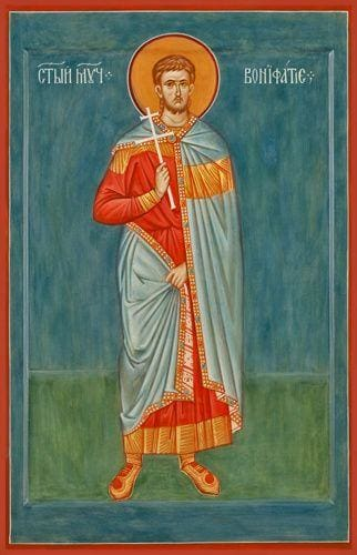 St. Boniface Of Rome - Icons