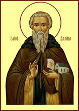 Load image into Gallery viewer, St. Brendan The Voyager - Icons