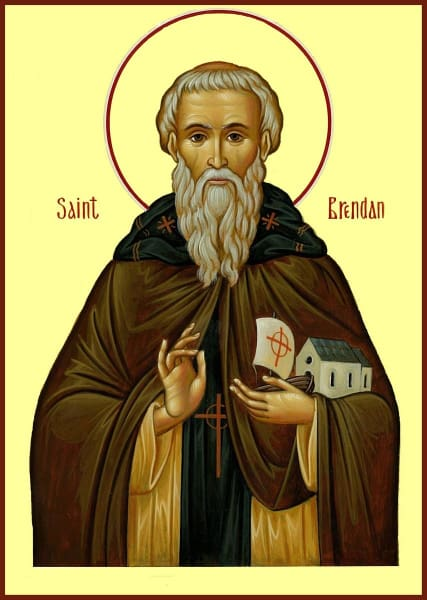 St. Brendan The Voyager - Icons
