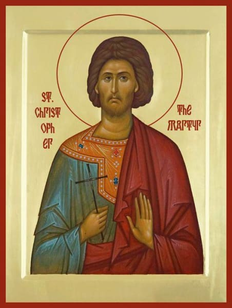 St. Christopher The Martyr - Icons