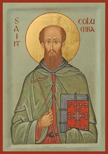 Load image into Gallery viewer, St. Columba Of Iona - Icons