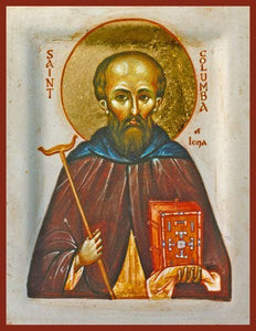 St. Columba Of Iona - Icons