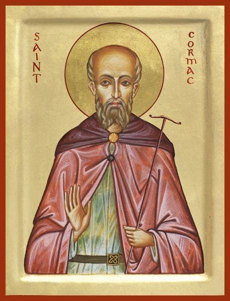 St. Cormac Of Ireland - Icons
