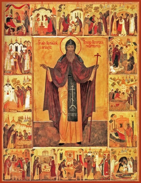 St. Cornelius Of Pskov - Icons