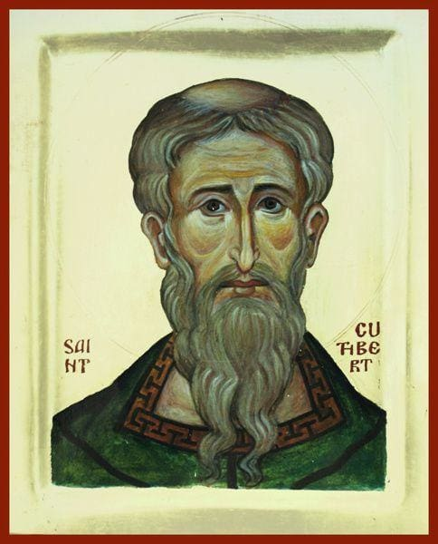 St. Cuthbert Of Lindisfarne - Icons