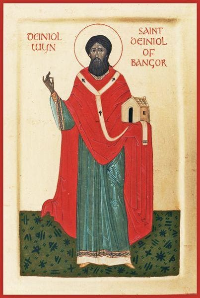 St. Deiniol Of Wales - Icons
