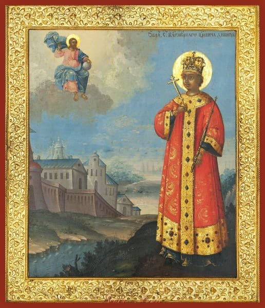 St. Dimitri Of Moscow - Icons