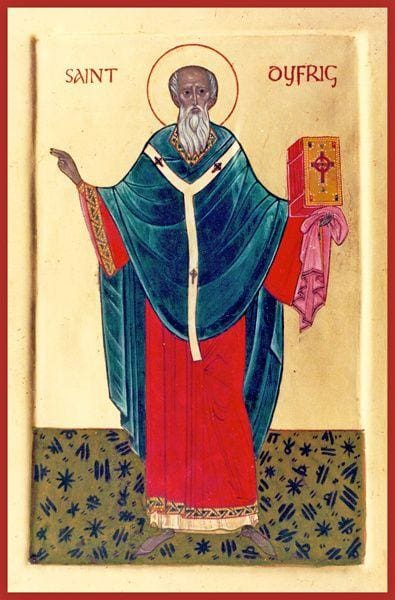 St. Dyfrig Of Wales - Icons