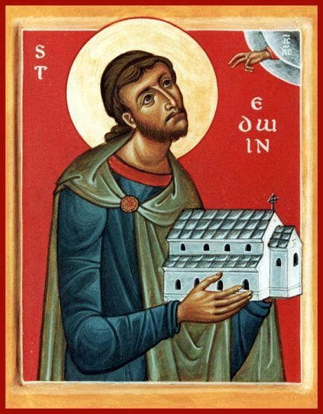 St. Edwin Of Northumbria - Icons