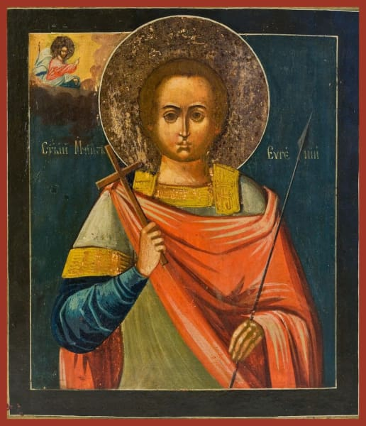 St. Eugene The Warrior - Icons