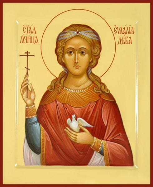 St. Eulalia Of Barcelona - Icons