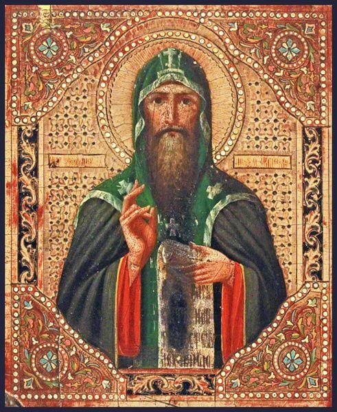 St. Euthemius Of Suzdal - Icons