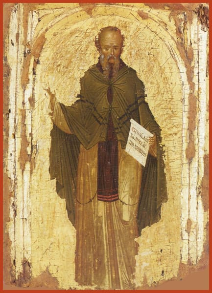St. Euthymius The Great - Icons