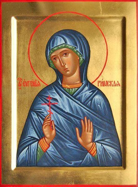 St. Evgenia Of Rome - Icons