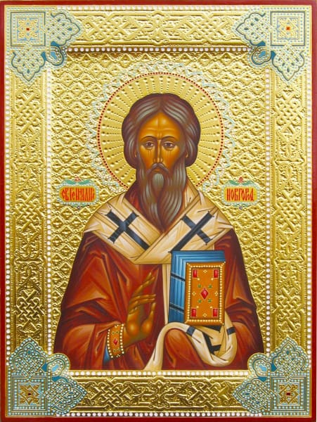 St. Gennady Of Novogorod - Icons