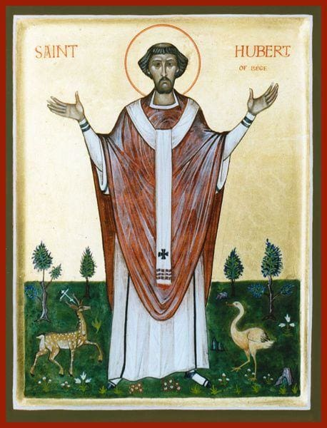 St. Hubert Of Liege - Icons