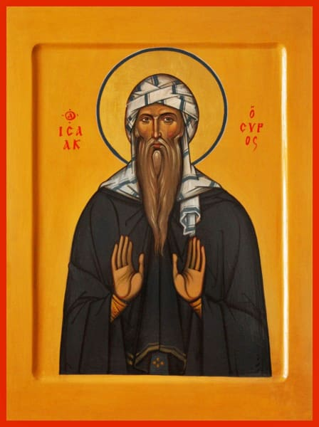 St. Isaac The Syrian - Icons