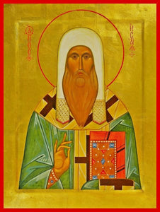 St. Isaiah Of Rostov - Icons