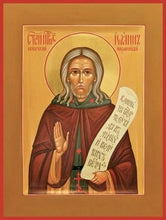 Load image into Gallery viewer, St. John The Clairvoyant Of Egypt - Icons