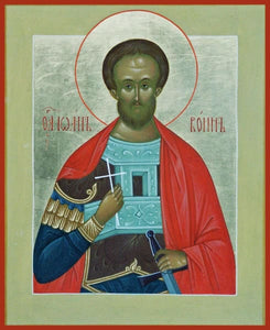 St. John The Warrior - Icons