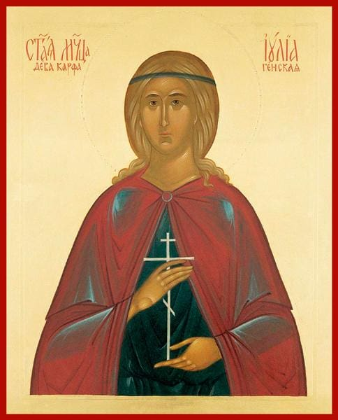 St. Julia Of Carthage - Icons