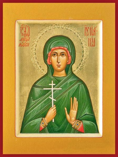 St. Juliana Of Nicomedia - Icons