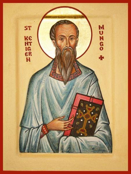 St. Kentigern Of Scotland - Icons