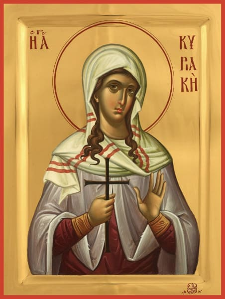 St. Kyriake The Martyr - Icons