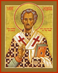 St. Lazarus The Resurrected - Icons