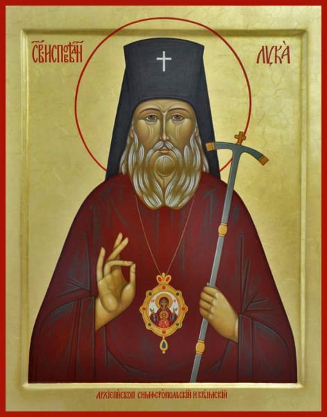 St. Luke The Surgeon Of Simferopol - Icons