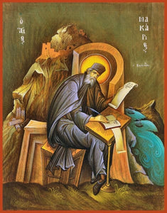 St. Macarius Of Corinth - Icons