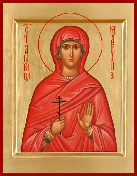 St. Margaret Of Antioch - Icons