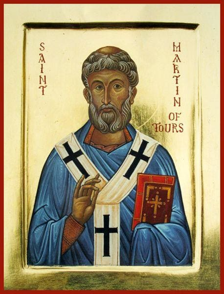 St. Martin Of Tours - Icons